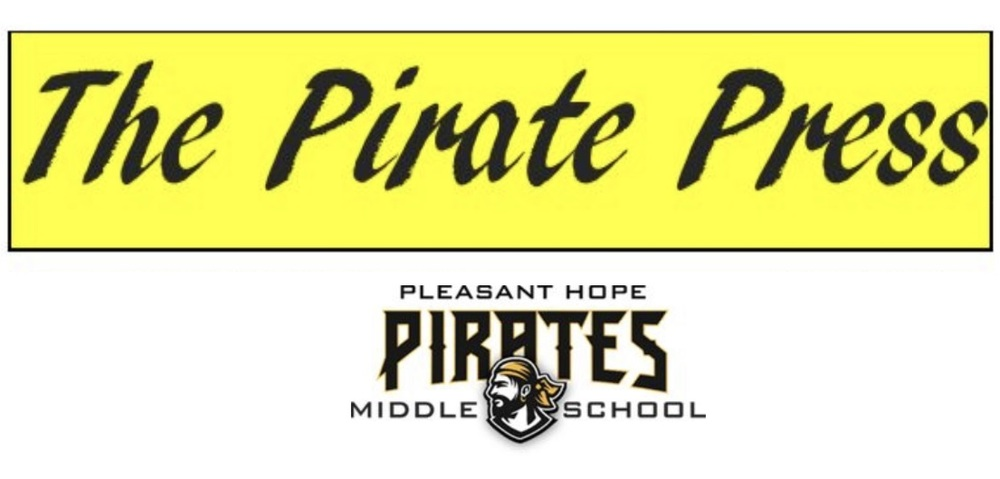 December edition of The Pirate Press, school newspaper of PHMS