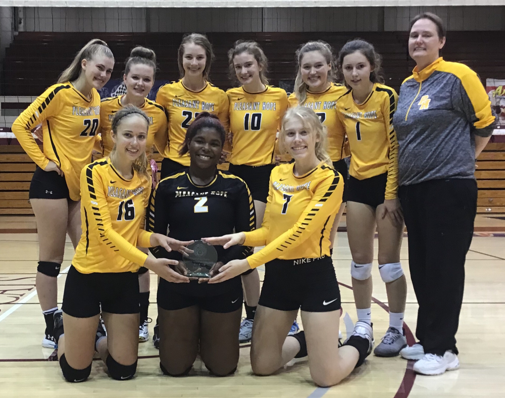 Pleasant Hope Volleyballers claim 3rd place in School of the Ozarks Tourney