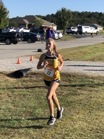 Varsity Cross Country Girls compete today at Pleasant Hope Invitational