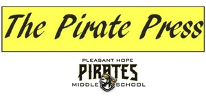 November edition of The Pirate Press, school newspaper of PHMS