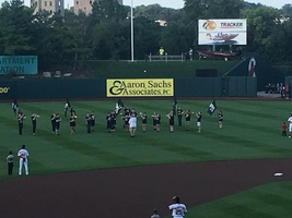 Pleasant Hope Pirate Power Band performing at Springfield Cardinals Game on Friday 8/9/19