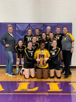 Pleasant Hope claims the Championship of the Thomas Jefferson Volleyball Tournament