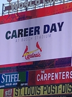 Pleasant Hope Students attend Career Day at Busch Stadium and watch the St. Louis Cardinals take on the Washington Nationals