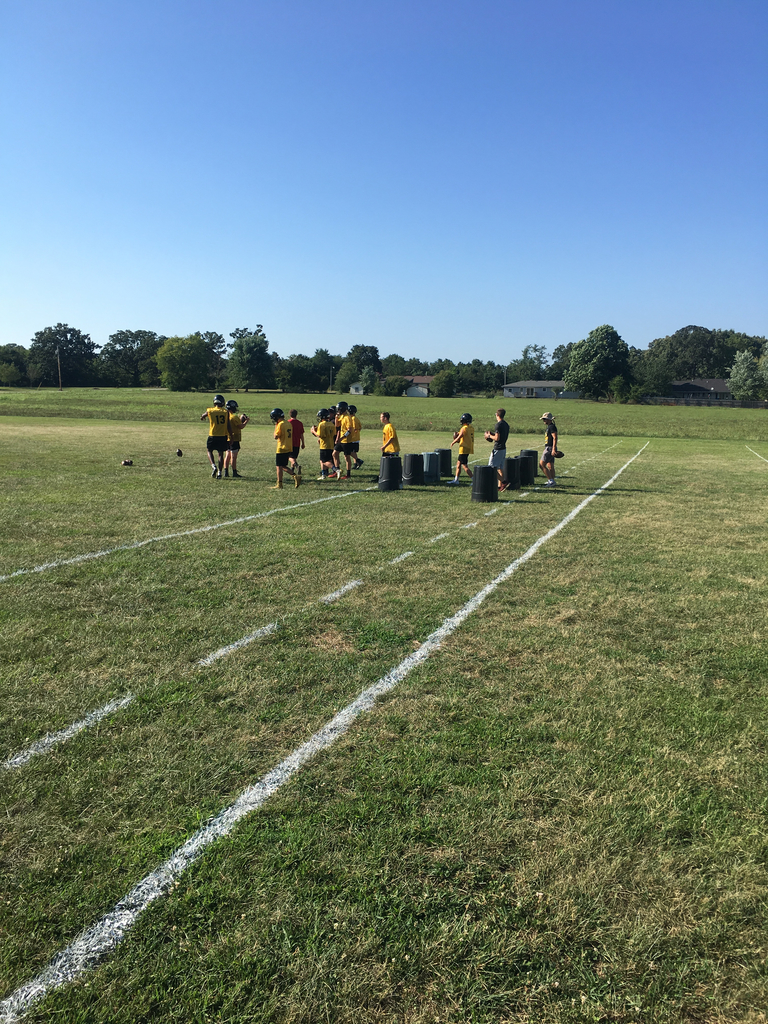 Workouts begin for the Pleasant Hope Pirates Football team
