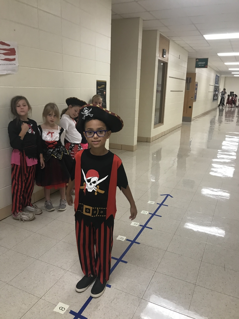 Pirates are walking the plank in addition for Pirate Day!