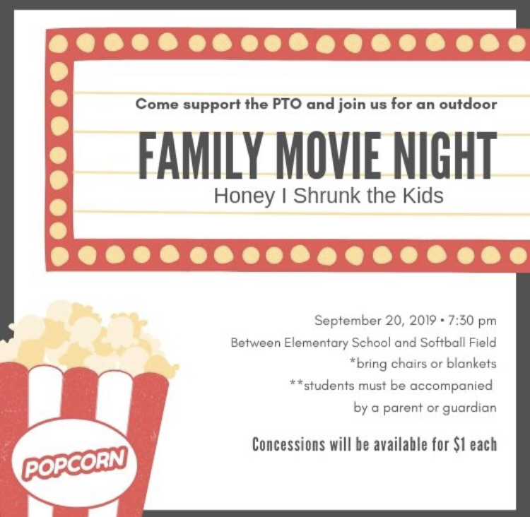 Tonight, PTO Movie Night