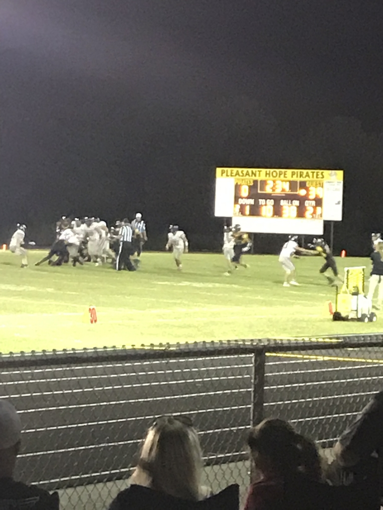 Pirates down 39-0. Still playing hard!