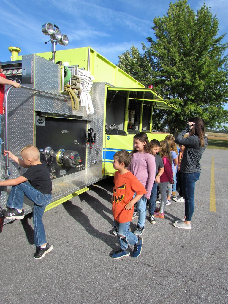 Fire Prevention Day at PHES!