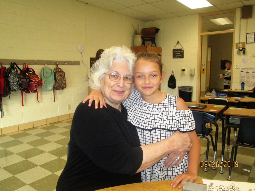 Grandparents enjoy time at PHES!