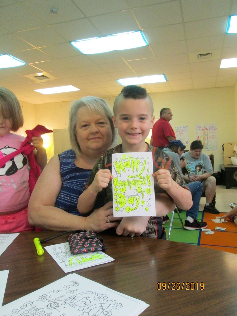 Grandparents' Day brings lots of smiles!