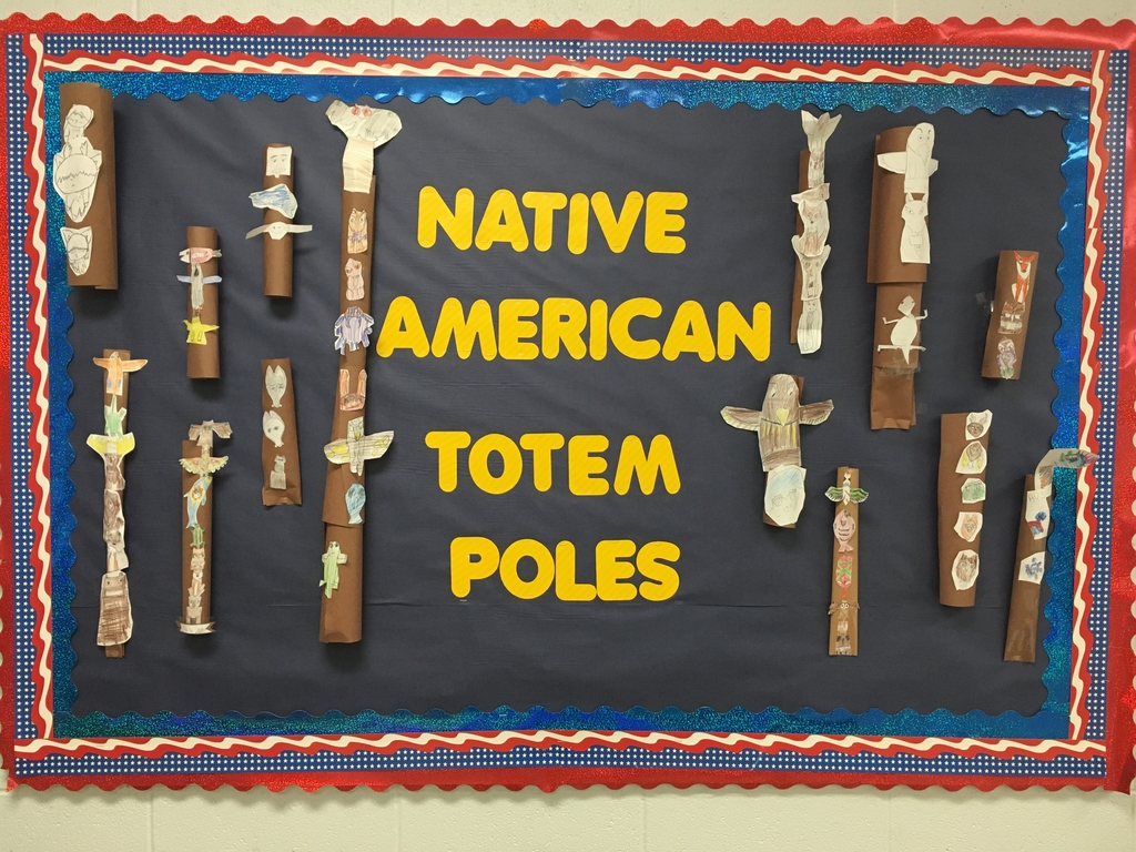 5th Grade Native American Totem Poles