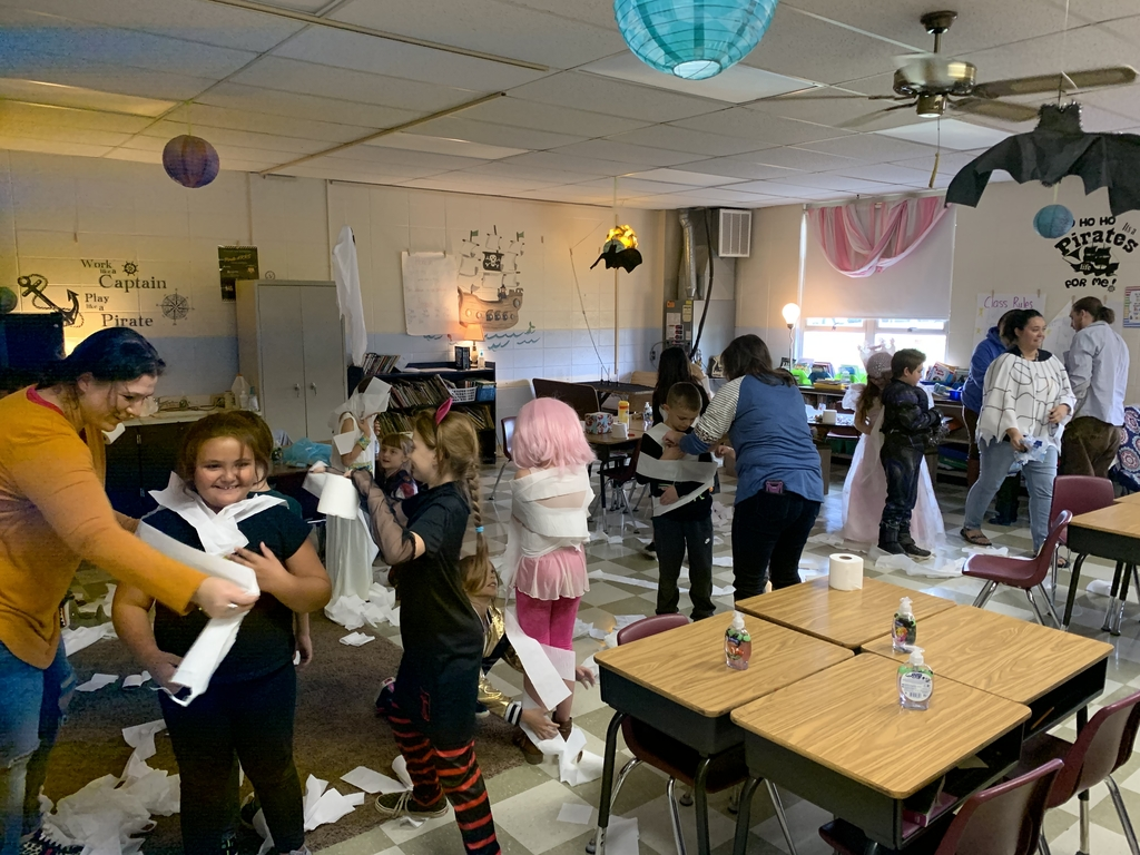 Mummies in Mrs. Wood's Room