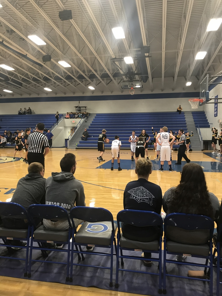 JV boys playing Galena