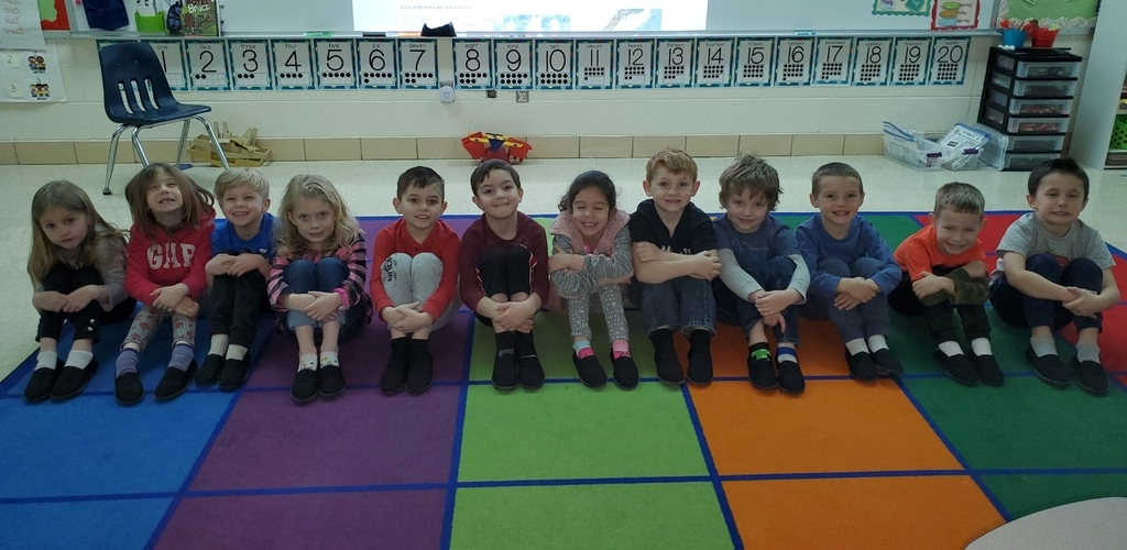 Mrs. Church's Kindergarten Class receives TOMS