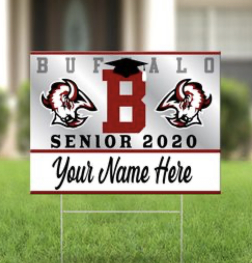 Yard sign sample